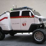 ghostbusters 3 ecto hummer vehicle