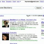 google social search front