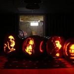 harry potter characters pumpkin faces
