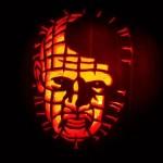 hellraiser pinhead pumpkin face