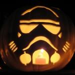 imperial stormtrooper pumpkin face