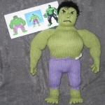 incredible hulk cool doll