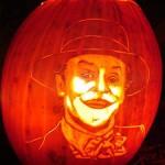 jack nicholson joker pumpkin face