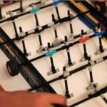 lego foosball table