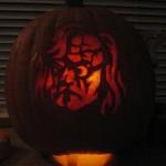 mad eye moody pumpkin face