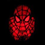 new spiderman pumpkin