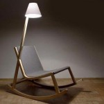 oled lamp rocking chair