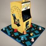 pacman arcade game cake
