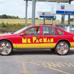 pacman car side view