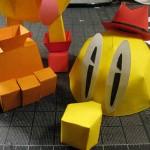 cool pacman papercraft