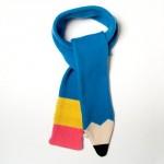 pencil scarf