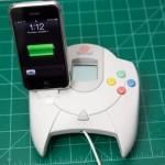 sega dreamcast iphone dock mod