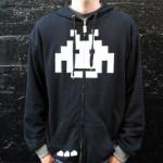 space invaders hoodie