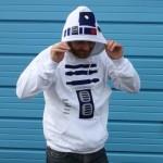 star wars r2d2 hoodie