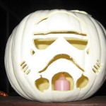 star wars stormtrooper pumpkin face