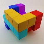 tetris game chair design 3