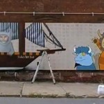 where the wild things are mural