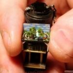 world's smallest train model