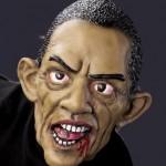 zombie barack obama halloween mask
