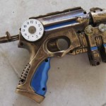 Nerf Maverick Nite Finder Steampunk Gun