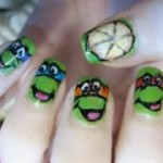 Ninja Turtles nail paint