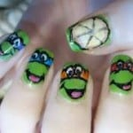 Ninja Turtles nail paint