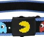Pac Man Blue Trim Belt