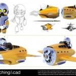 Robo Pilot CAD Sketch