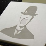 Son of Man Magritte Notebook Art