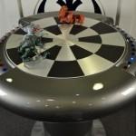 Steampunk Millenium Chess Table(3)