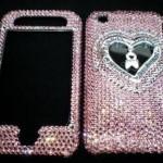 Swarovski Crystal iPhone Faceplate