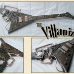 The Villanizer Steampunk Guitar