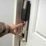 biometric door bolt