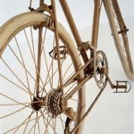 cardboard bicycle art