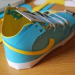cool nike shoes design papercraft