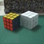 cool paper rubik's cube