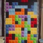 cool tetris quilt design