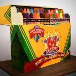 crayola crayons cake