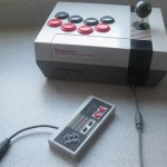 nes fighting stick mod console