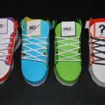 paper nike shoes