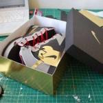 papercraft nike shoes