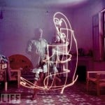 picasso light drawings
