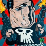 punisher picasso drawing