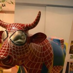 spiderman cow escaped monkey