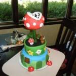 super mario piranha cake
