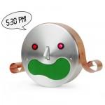 talking robot alarm clock kim