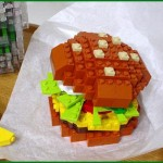 tasty lego hamburger