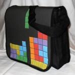 tetris messenger bag