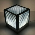 Alterable cube lamp