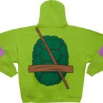 Donatello Costume Back